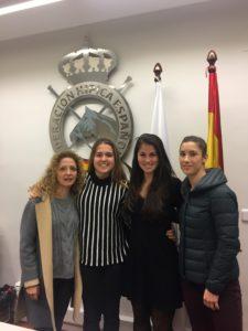 Componentes de EVM participantes del curso de juez nacional de volteo organizado por la RFHE